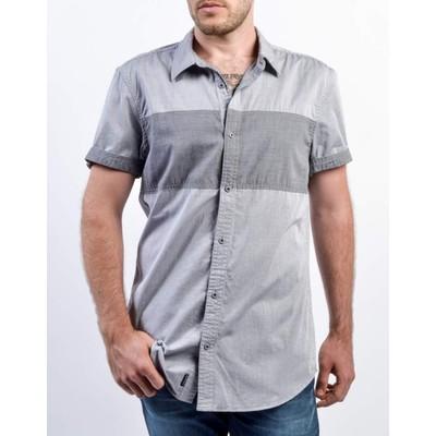 Men's Sagust Colour Block Shirt