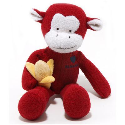 Jax & Bones Wool Monkey Dog Toy
