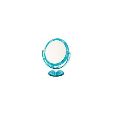 Round Vanity Mirror - Aqua Swirl