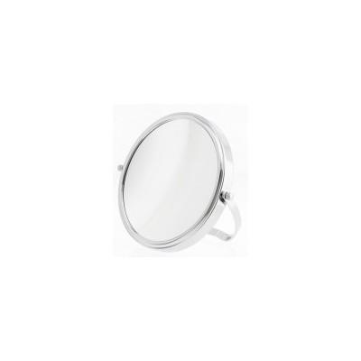 Chrome Easel Back On-the-Go Mirror