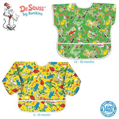 Seuss bibs - Sleeved and Junior