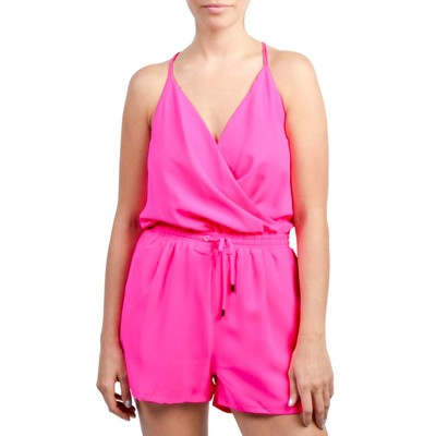 LOVE&LOVE  SPAGHETTI STRAP SHORT ROMPER