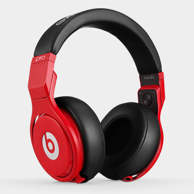 Beats Pro Headphone Lil Wayne -Red Black
