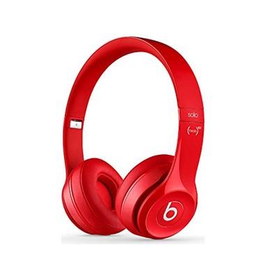 Beats Solo 2 Wireless On-Ear Headphone - Red