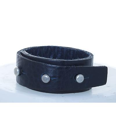 Recess Collection 3 Pin Adjustable Men's Leather Bracelet
