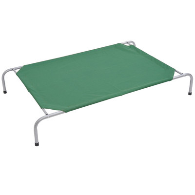 """51.2"""" x 31.5"""" Large Elevated Dog Bed Pet Cot Green"""