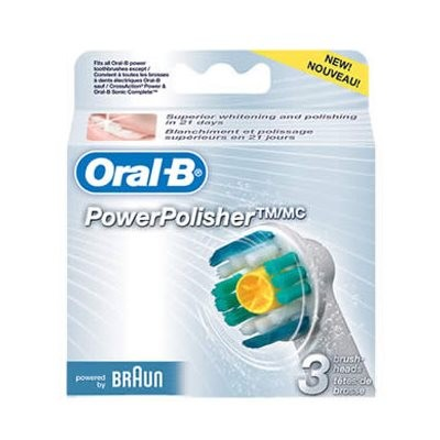 Oral-B Pro White Toothbrush Heads (3)