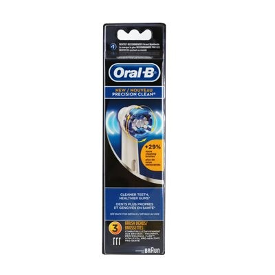 Oral-B Regular Toothbrush Heads Precision Clean (3)