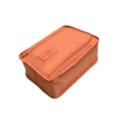 Travel Shoe Organizer - Orange Color