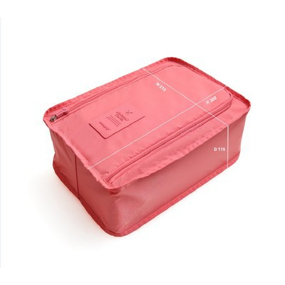 Travel Shoe Organizer - Pink Color