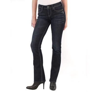 Silver Jeans SUKI HIGHRISE SLIM BOOTCUT IN CLEAN INDIGO