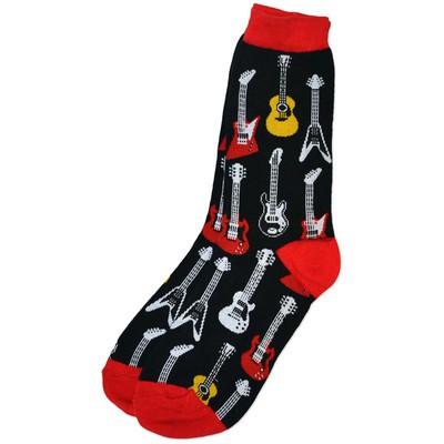 Ladies Guitar Socks - 9-11 - Aim - 16310