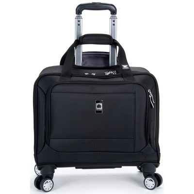 """Helium Breeze 4.0 Luggage 17"""" Trolley Tote Spinner - Black Color"""