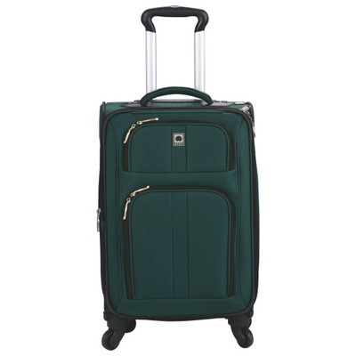 """Amherst 18"""" 4-Wheeled Expandable Carry-On Luggage - Green Color"""