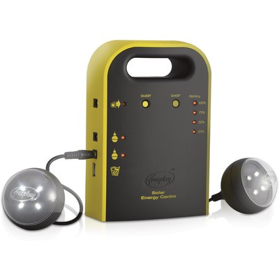 Freeplay Energy Hub / Chargerw/Solar panel & Lights (4893114215134)