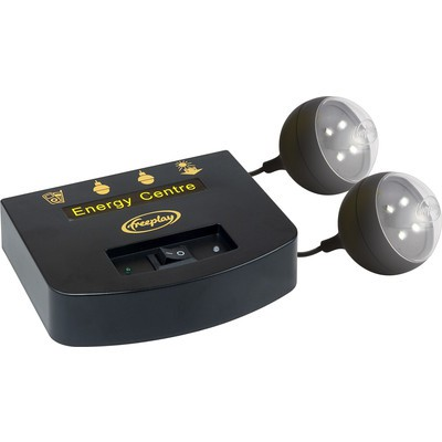 Freeplay Energy Center Solar Charging Power Station with Lights (5060293120149)