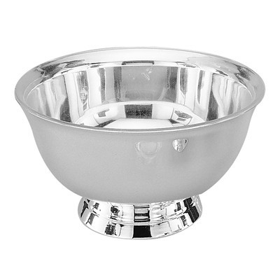 """4"""" Silver Plated Revere Bowl With Liner"""