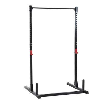 Adjustable Power Squat Rack Strength Training Fitness Pull Up Weight