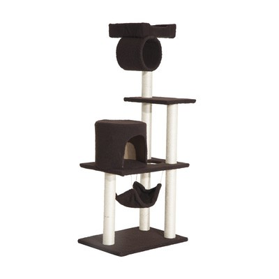 """55"""" Cat Tree Kitty Pet Scratching Furnture Toys Condos Posts House"""