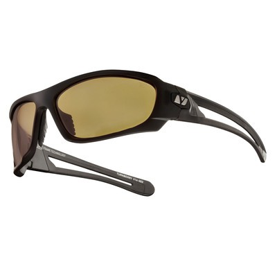 TURNBERRY - Matte Black with Sunset Amber Polarized+ Lens