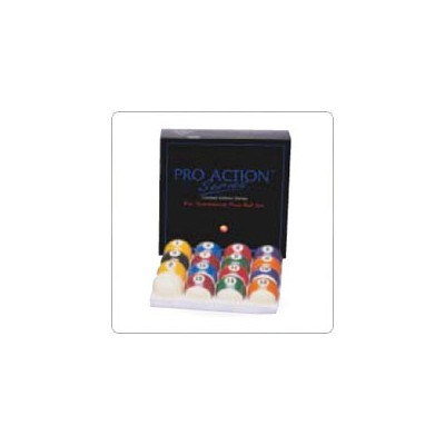 "Pro Action 2 1/4"" Pool Ball Set"