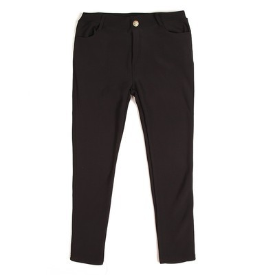 Luxanne Fur lined Cozy Black Jegging