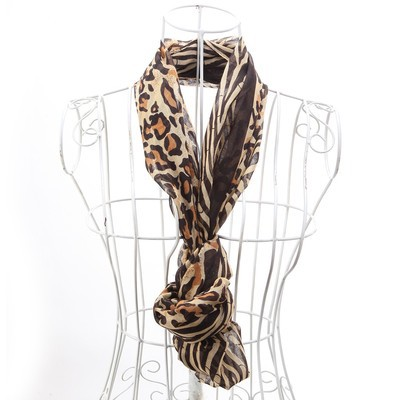 Luxanne Zebra All Season Infinity Cowl