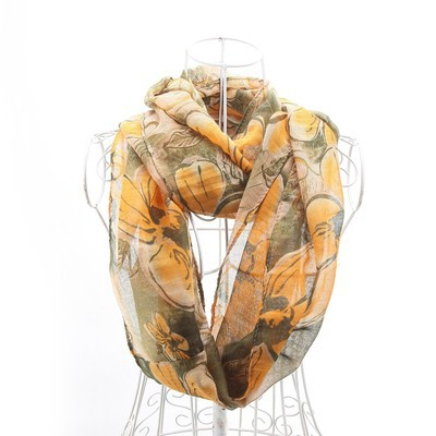 Luxanne Floral All Season Infinity Cowl