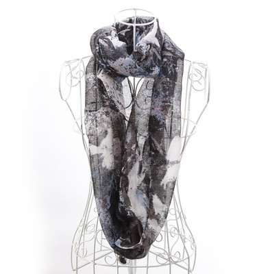 Luxanne Brushstrokes All Season Infinity Cowl
