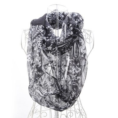 Luxanne Engraving All Season Infinity Cowl