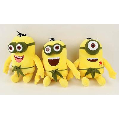 Set of 3 'Despicable Me 2' Hawaiian Minions Plush Toys