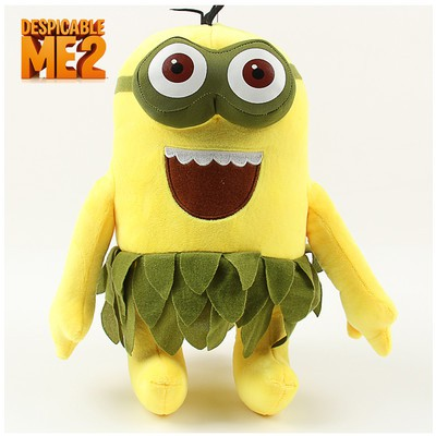 'Despicable Me 2' Hawaii Hula Skirt Minions Plush Toy - Kevin