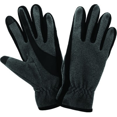 Ladies Thermal Texting Gloves - Charcoal