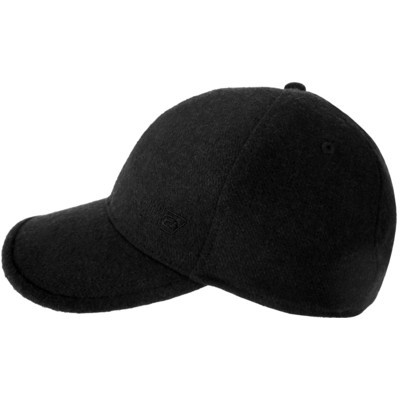 Men's Wool Baseball Cap Black