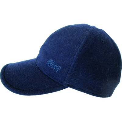 Men's Wool Baseball Cap Blue