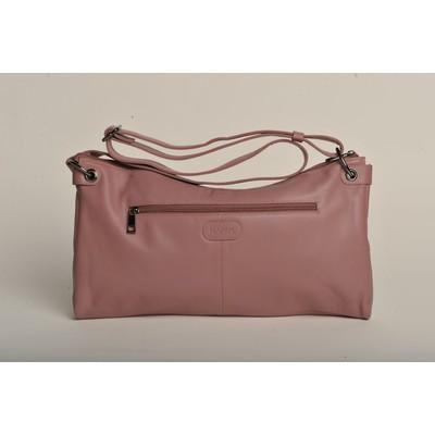 Lisa Leather Messenger Bag