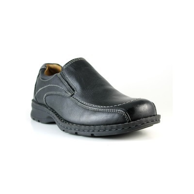 Men's Dockers 'Custodian' Leather Casual twin gore slip on