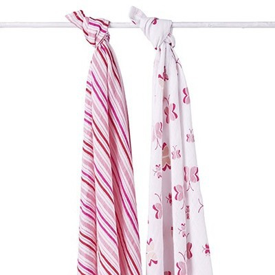 Aden + Anais Classic Swaddle 2 Pack Princess Posie