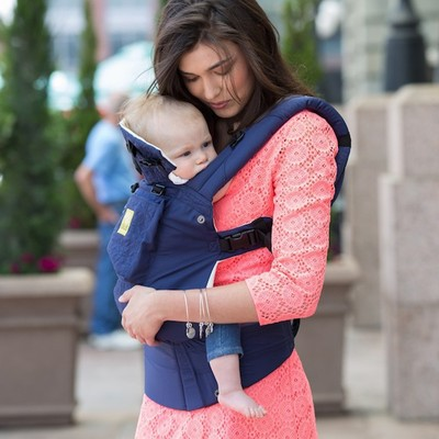 Lillebaby Baby Carrier Embossed - Blue