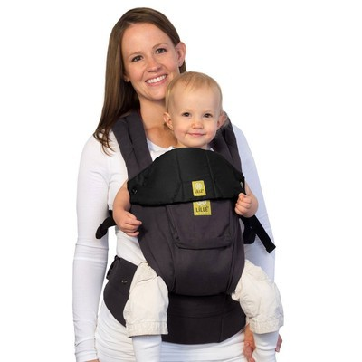 Lillebaby Original Baby Carrier Pocket - Charcoal/Black
