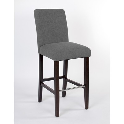 Harper Counter Stool with Spill Protection and No-Sag Seat - Grey (2 Pack)
