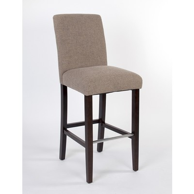 Harper Bar Stool with Spill Protection and No-Sag Seat - Beige (2 Pack)