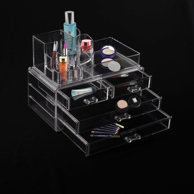 Makeup Jewelry Storage Organizer Case Display Chest Drawers Cosmetics