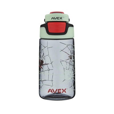 Avex FreeRide Water Bottles, 16-Ounce, SPIDER Charcoal