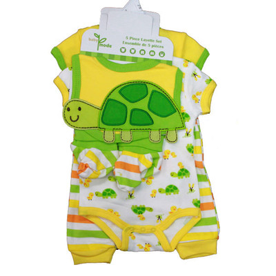 Baby 5 Piece Set - Yellow