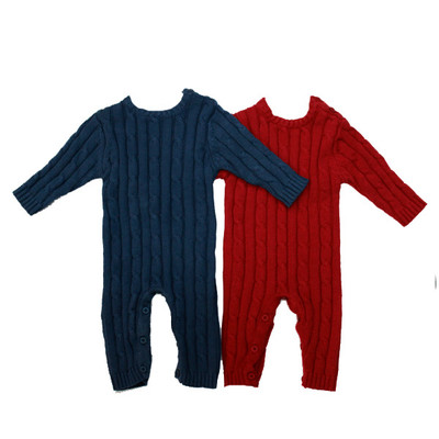Baby Cable Knit Romper