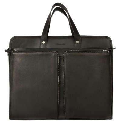 Kenneth Cole New York Top Zip Laptop and Tablet Case in Black