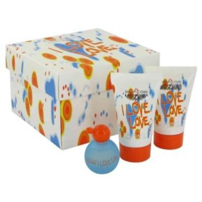 Moschino I love love mini set: 4.9ml Mini + 25ml Shower Gel + 25ml Body Lotion