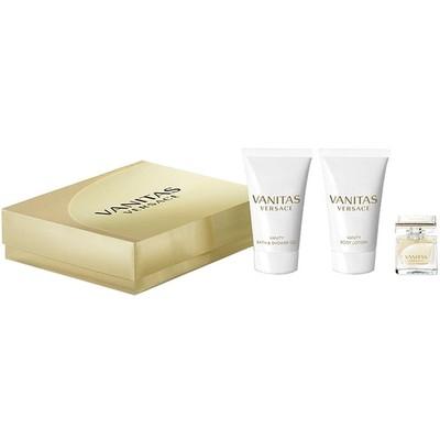 Versace Vanitas mini gift set: 4.5ml Mini + 25ml Body Lotion + 25ml Shower Gel