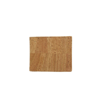 MENS CORK WALLET SLIM BI-FOLD - VEGAN